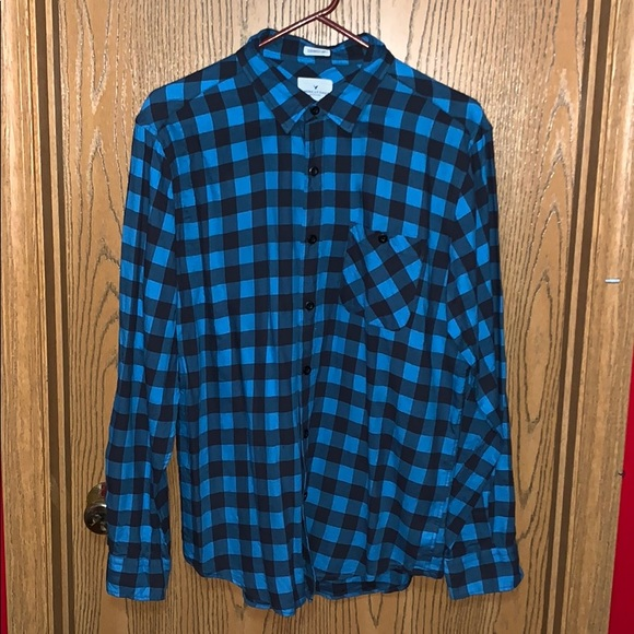 American Eagle Outfitters Other - American Eagle Plaid Button Up